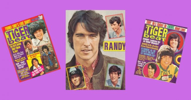 Randy Mantooth Tiger Beat (feature)