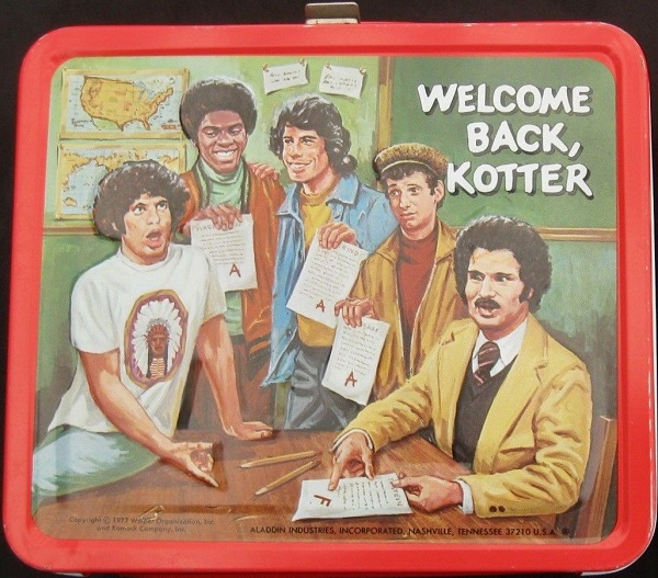 Welcome Back Cotter lunch box
