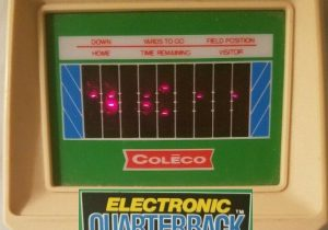 Coleco Electronic Quarterback feature