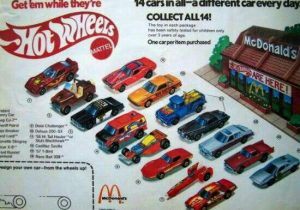 Happy Meal Hot Wheels (1983)