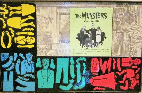 The Munsters Cartoon Kit colorforms