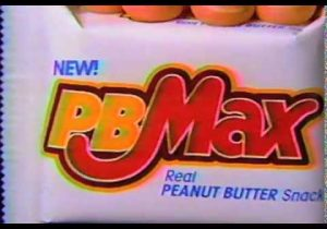 pb max candy bar commercial