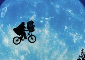 e.t. movie poster feature