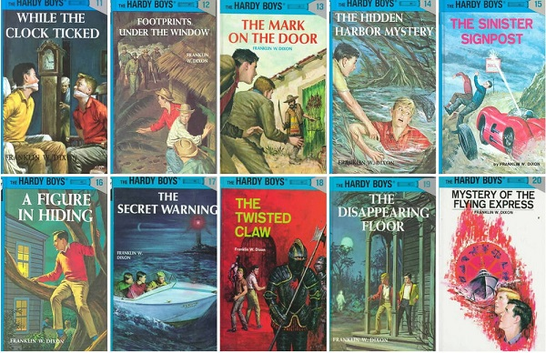 hardy boys reading levels
