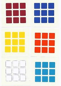 rubiks cube stickers