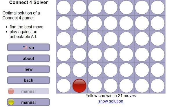 Connect 4 Solver