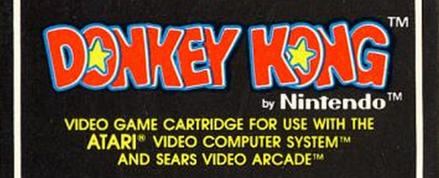 atari 2600 donkey kong coleco cartridge feature