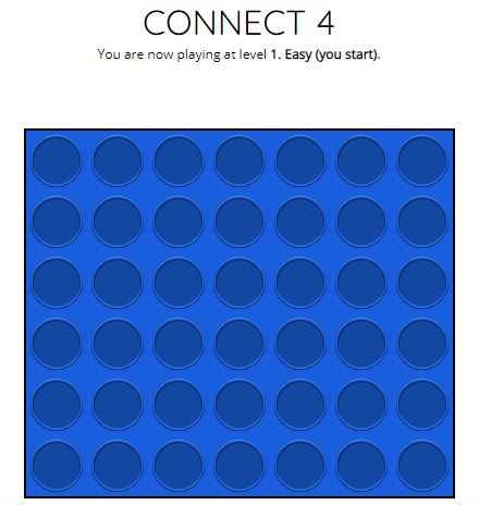 connect 4 helpful games
