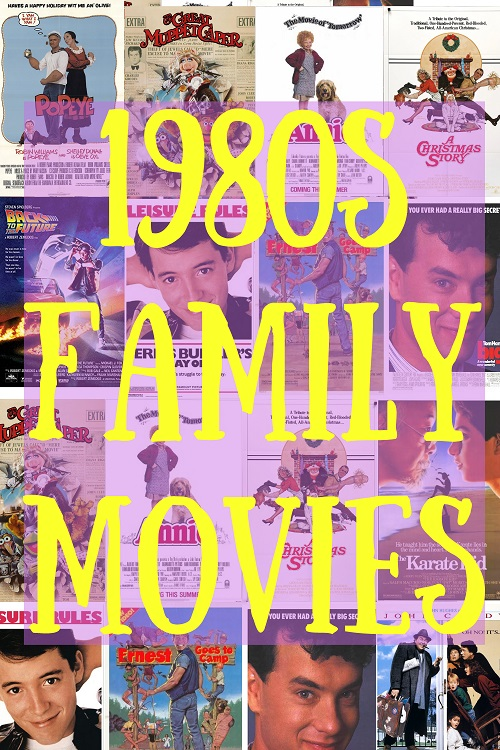 1980s Family Movies - pinterest