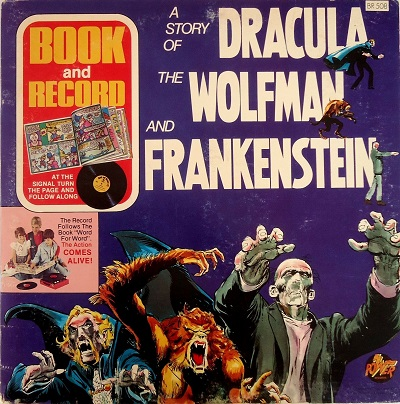 A Story Of Dracula The Wolfman & Frankenstein