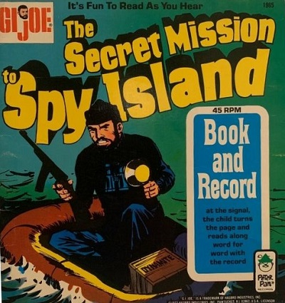 G.I. Joe - The Secret Mission to Spy Island readalong