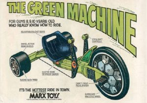 huffy green machine marx