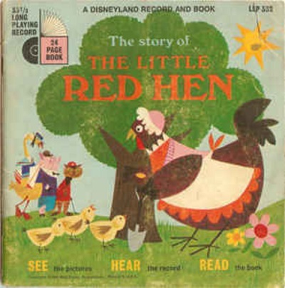 the little red hen read along