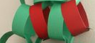 construction paper chain garland 1970s christmas decorations